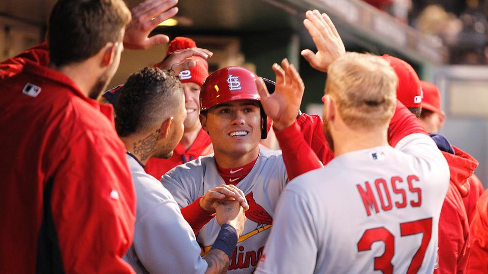 Diaz's pinch-hit HR blasts Cards over Braves | MLB.com