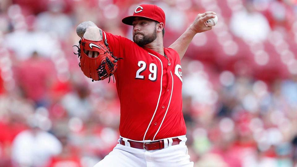 11a695d698c Reds  Brandon Finnegan makes spring debut