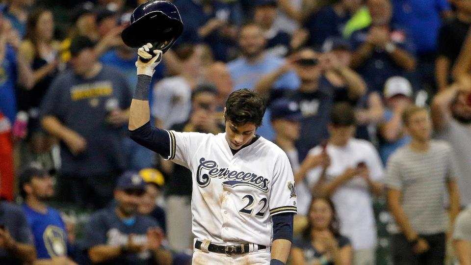 Christian Yelich hits for 2nd cycle of season