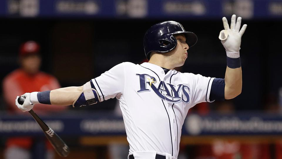 corey dickerson homers in win over reds mlb com rh mlb com