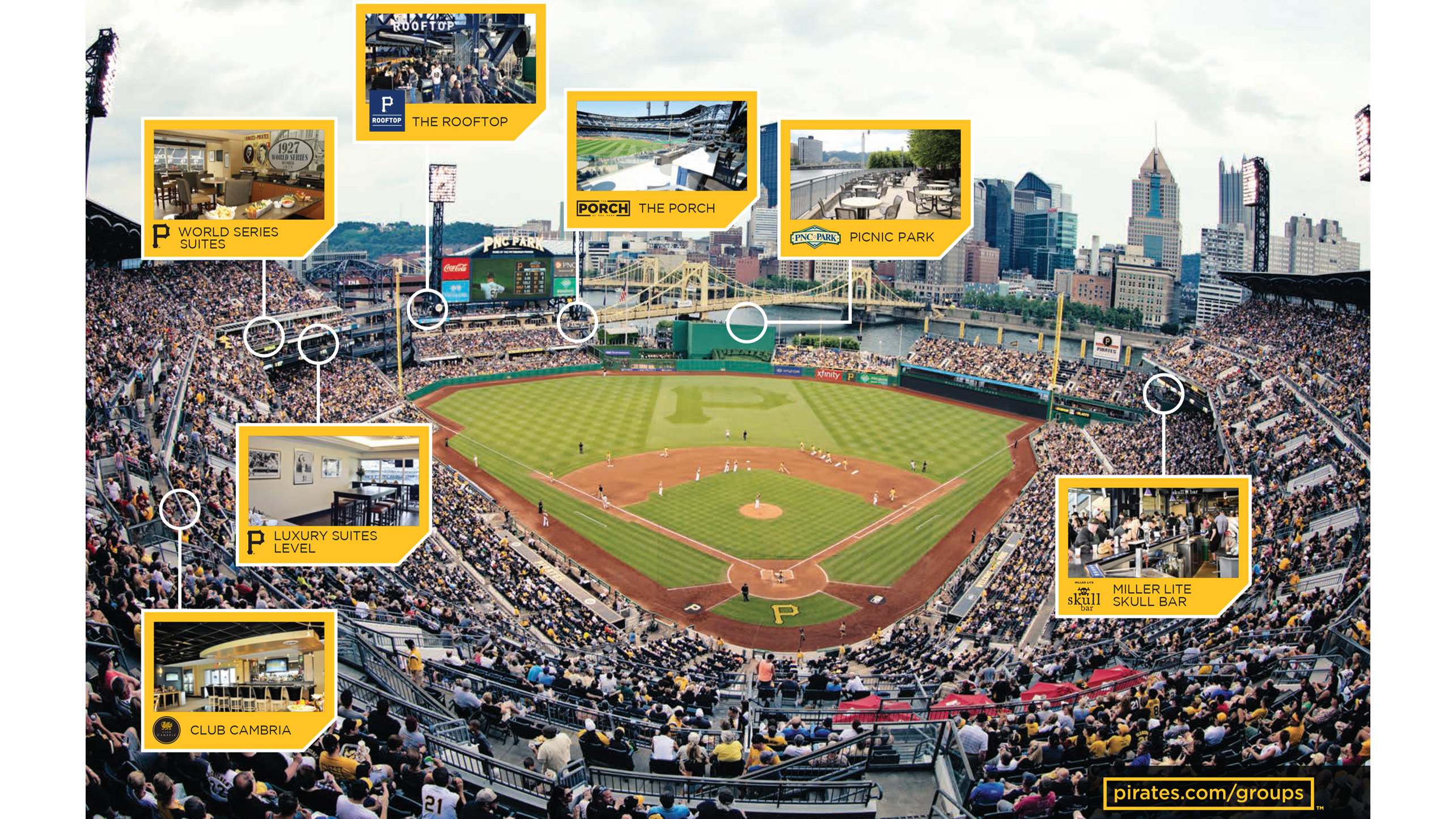 Hospitality and Suites | Pittsburgh Pirates