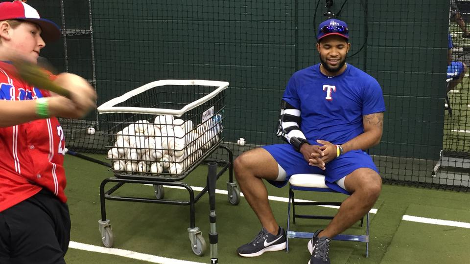 Andrus promotes healthy lifestyle to youth