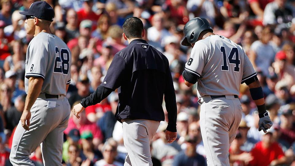 2ae57769255 Starlin Castro injured, could miss rest of '16 | New York Yankees