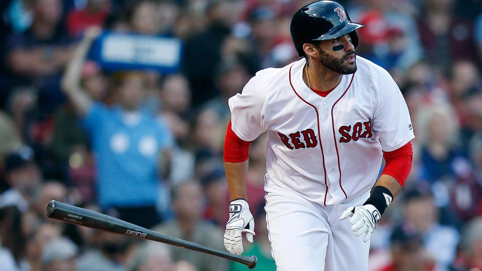 J.D. Martinez has been voted the 2018 Player of the Year by his peers. Martinez was named the recipient of the Players Choice Awards honor on Wednesday, as announced by the MLB Players Association.