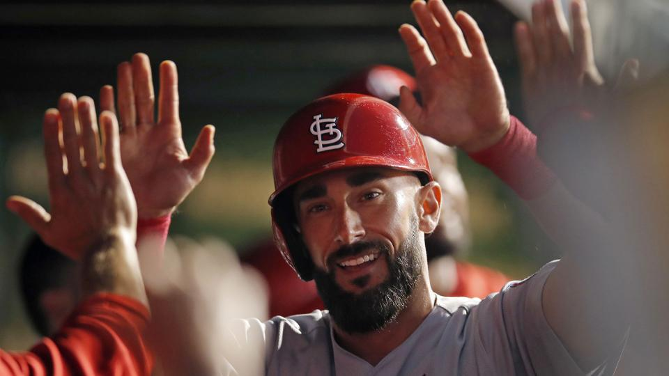 Carpenter makes it six straight games with a HR