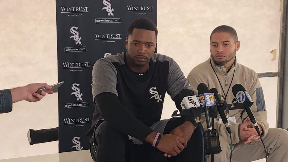 GLENDALE, Ariz. -- The names of Manny Ramirez and Miguel Cabrera have been evoked when searching for comparisons involving Eloy Jimenez, the No. 1 White Sox prospect per MLB Pipeline and No. 3 overall in baseball.