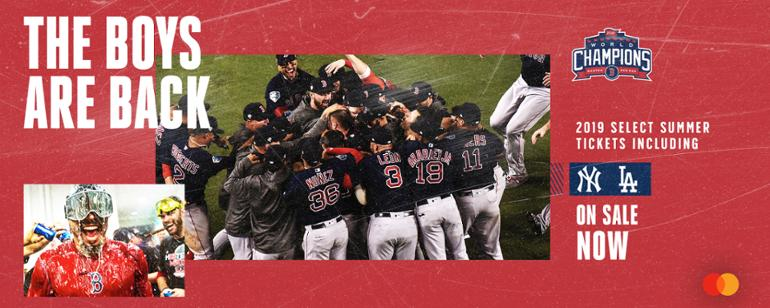 75a5330ee0b Official Boston Red Sox Website