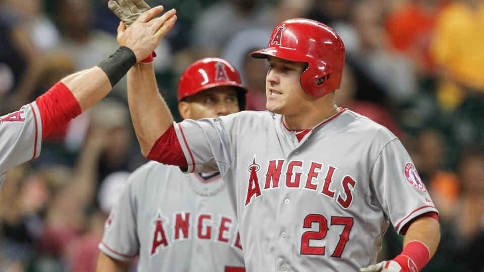 Angels outfielder Mike Trout smashes 100th career home run | MLB.com