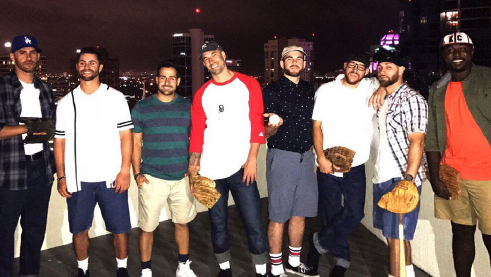 mike fiers shows off great the sandlot group halloween costumes mlbcom