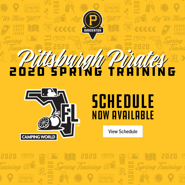 pittsburgh pirates schedule 2020