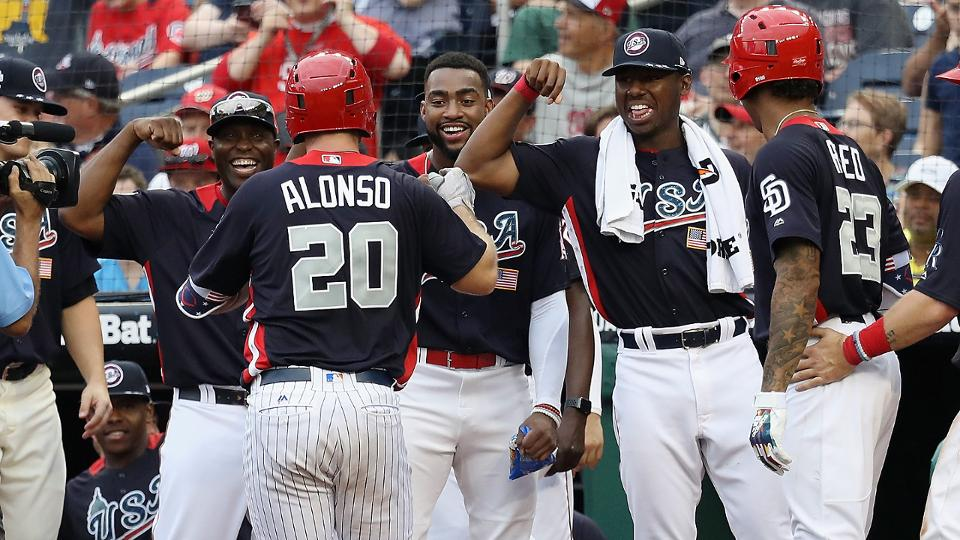 USA defeats World in Futures Game