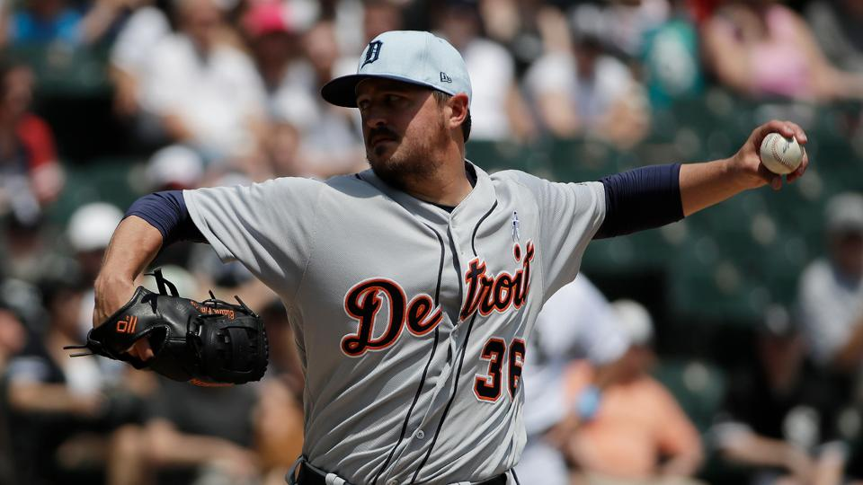 395bfbbfb Blaine Hardy strong for Tigers in sweep of Sox   Detroit Tigers