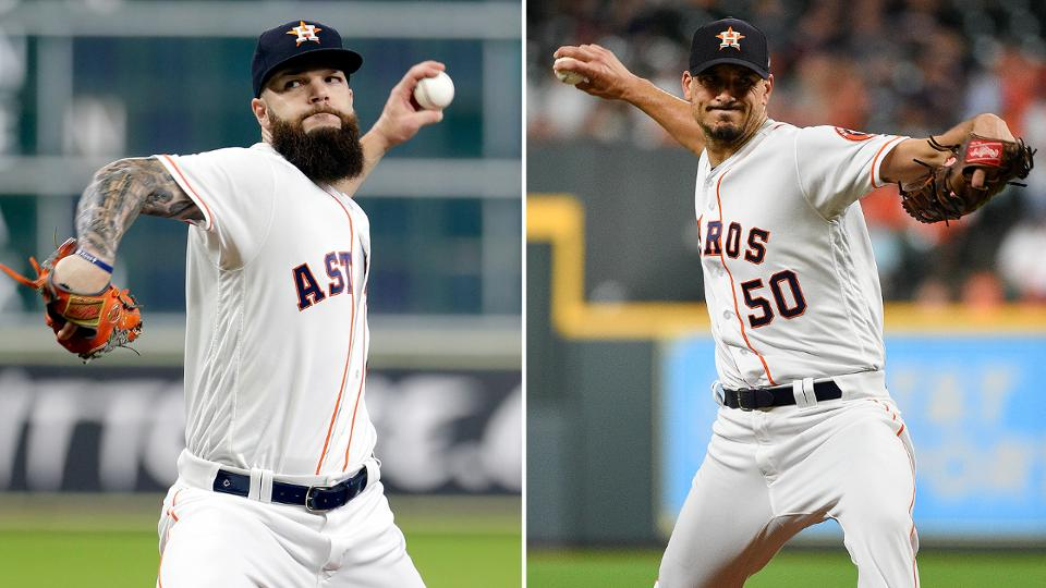Astros turn to Keuchel, Morton for Games 3, 4