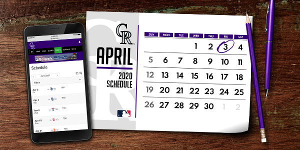 Rockies 2020 Schedule Rockies 2020 Schedule Announced | Say Hello To Baseball