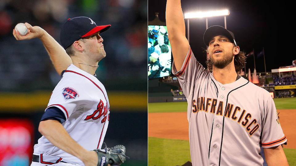 Braves pitcher Alex Wood got early glimpse of Madison Bumgarner's power | MLB.com