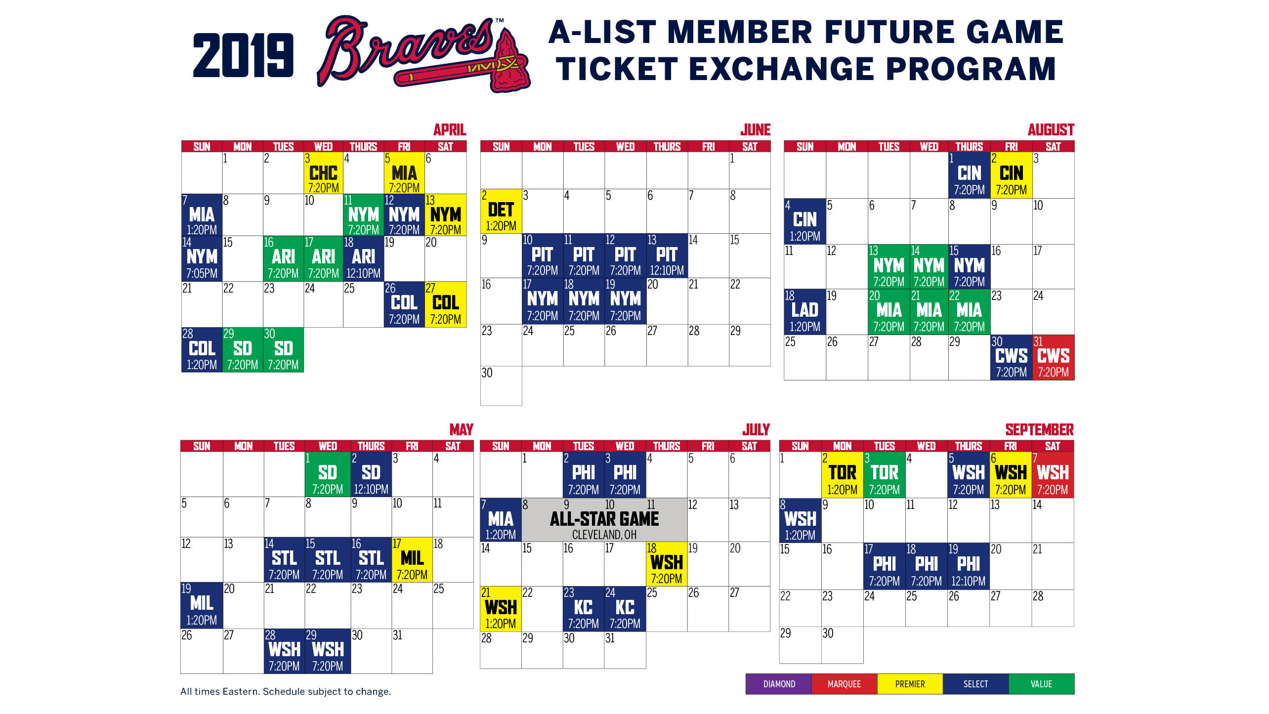 photograph about Atlanta Braves Schedule Printable identified as Ticket Switch Software program A-Record Member Atlanta Braves