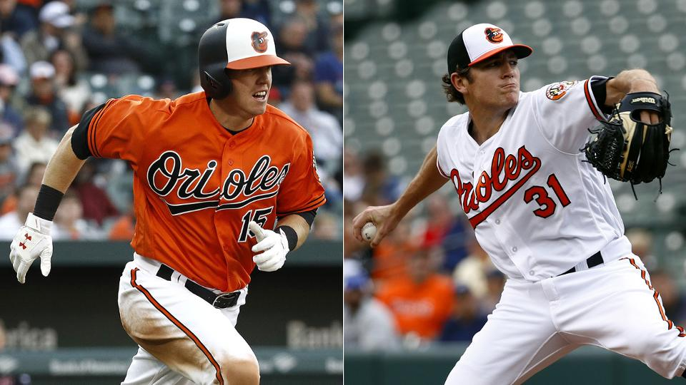 f1177e62de6021 Chance Sisco, Jimmy Yacabonis rejoin Orioles | Los Angeles Angels