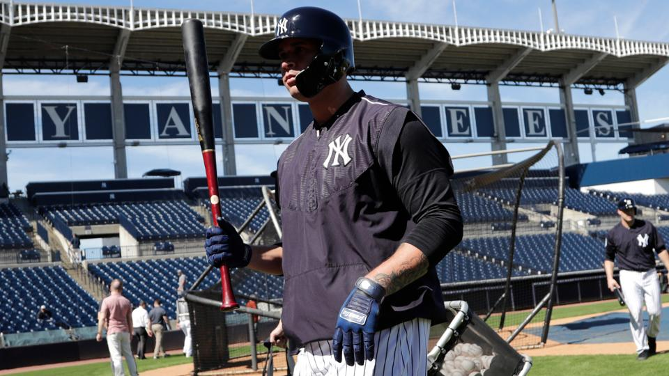 """TAMPA, Fla. -- Now that Luis Severino and the Yankees were able to avoid salary arbitration and find common ground on a four-year, $40 million contract extension, could Aaron Judge or Gary Sanchez be the next """"Baby Bombers"""" to cash in?"""