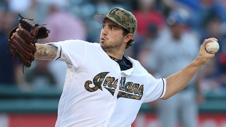 fa464502bc2 Indians turn to rookie Ryan Merritt in Game 5
