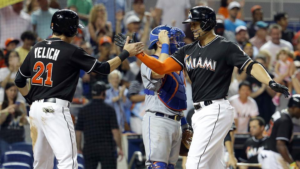 Stanton Fernandez Too Much For Mets To Handle Miami Marlins