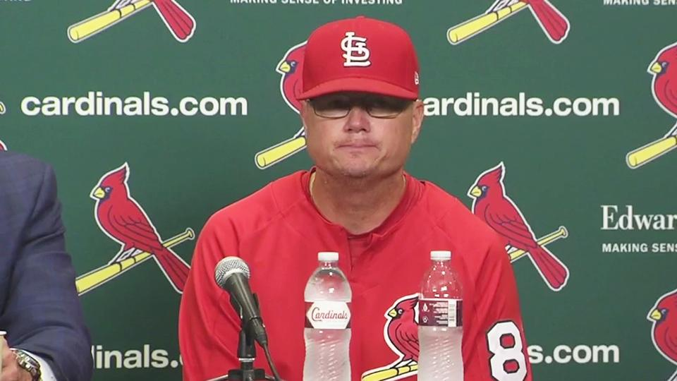 Cardinals address dismissal of Mike Matheny