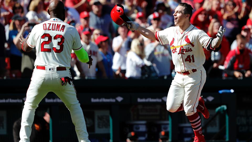 Cardinals beat Giants in 10th on walk-off HR