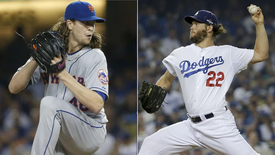 Kershaw, deGrom set MLB record with strikeouts | MLB.com