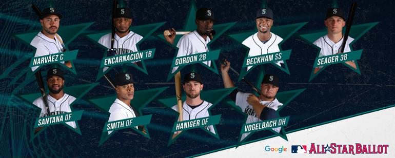 newest e3add eb1bc VOTE  Send Mariners to Cleveland for All-Star Game