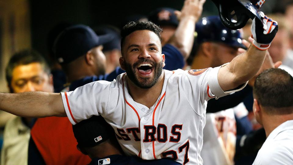 Astros take over top spot in power rankings