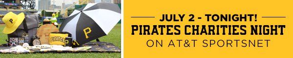 Pirates Charities Night on AT&T SportsNet
