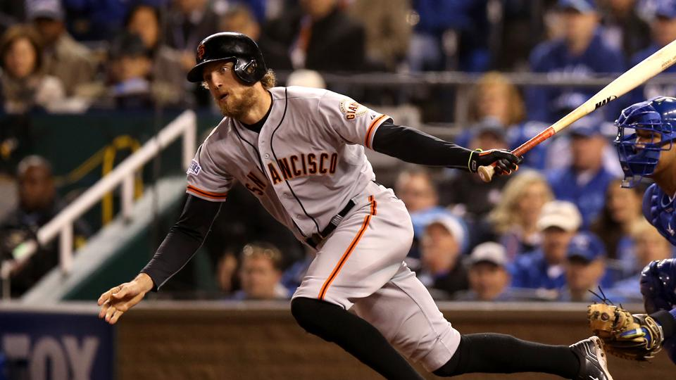 Hunter Pence Pablo Sandoval Leave Marks On World Series Record Book