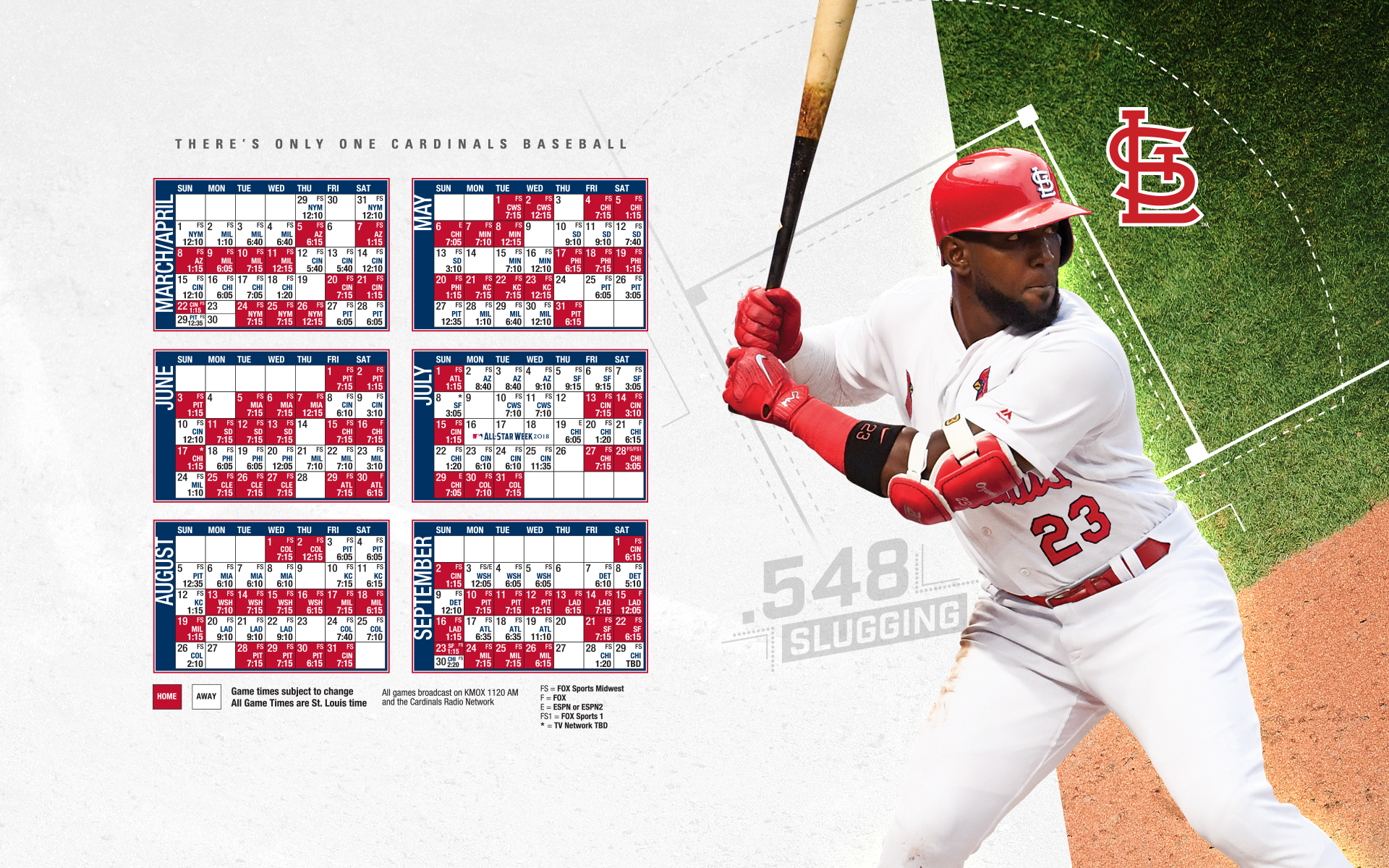 Desktop Wallpaper St Louis Cardinals