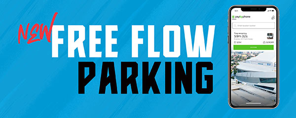 New Free Flow Parking at Marlins Park