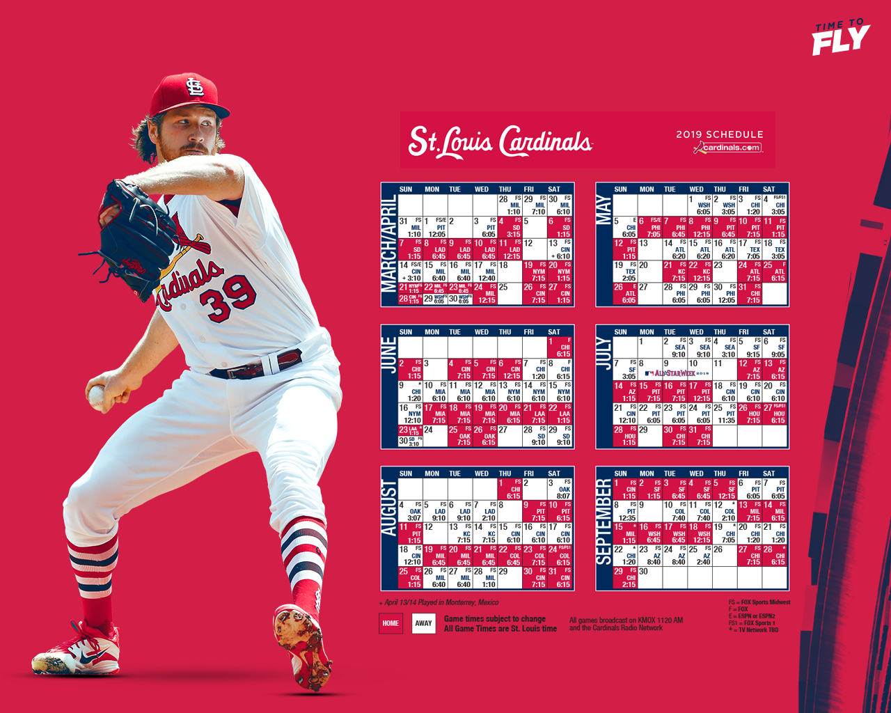 image about St Louis Cardinals Printable Schedule referred to as Desktop Wallpaper St. Louis Cardinals